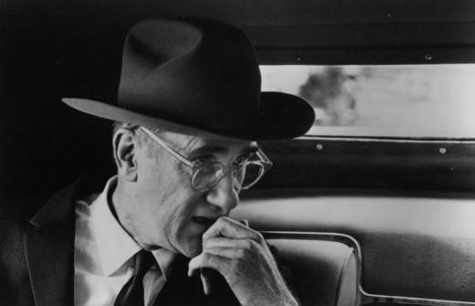 Donald Moffat as Lyndon B. Johnson in The Right Stuff (1983)
