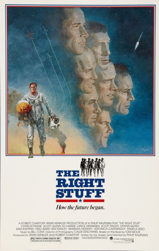 The Right Stuff (1983) poster