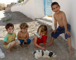 Children and Pets are Natural Partners