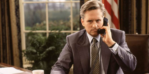 Michael Douglas as The American President (1995)