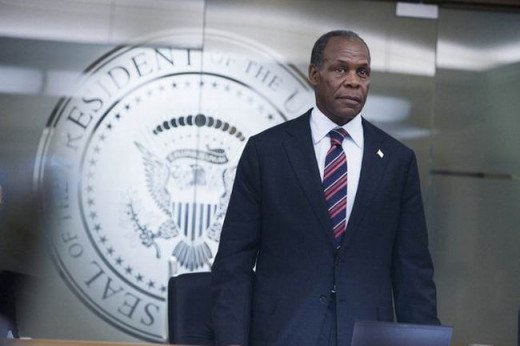 Danny Glover as the President in 2012 (2009)