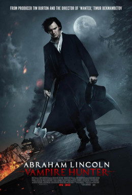 Abraham Lincoln Vampire Hunter (2012) poster