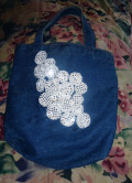 Easy Embellished Tote Bag Tutorial