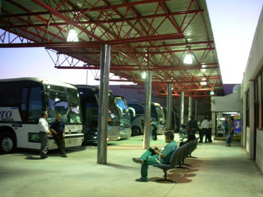 Hermosillo Bus Terminal.