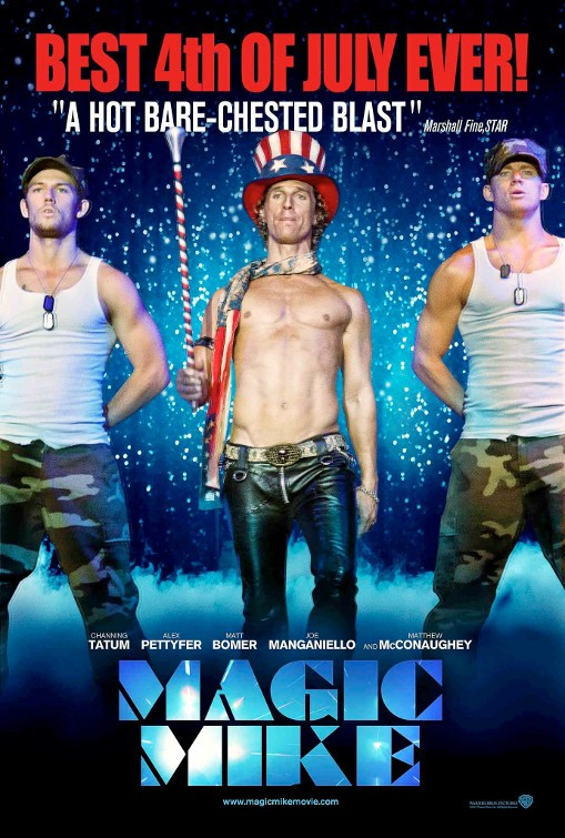 Magic Mike Poster #4