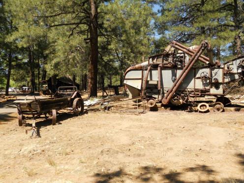Stockpile of old Farming Equipment