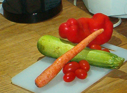 Try adding all sorts of veggies into your green salad
