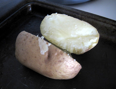 Sometimes I bake potatoes for homemade baked potato soup.