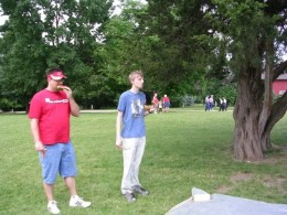 Watermelon seed spitting contest.