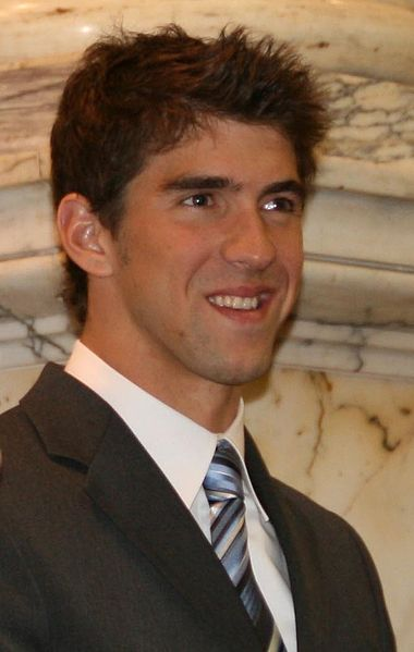 Michael Phelps, age 31 in 2016. Most decorated gold medalist of all time as of July 2012 at age 27 before the Summer 2012 Games.