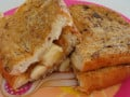 Peanut Butter and Banana Breakfast Sandwiches