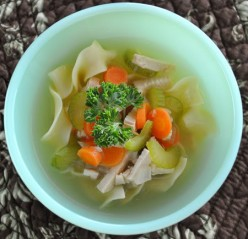 Lemongrass and ginger chicken soup recipe