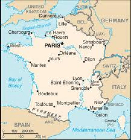 Modern France and her neighbours