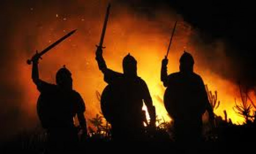 The Vikings probably invented the barbecue, they would have developed a taste for charred meat over the years of raiding in Frankia