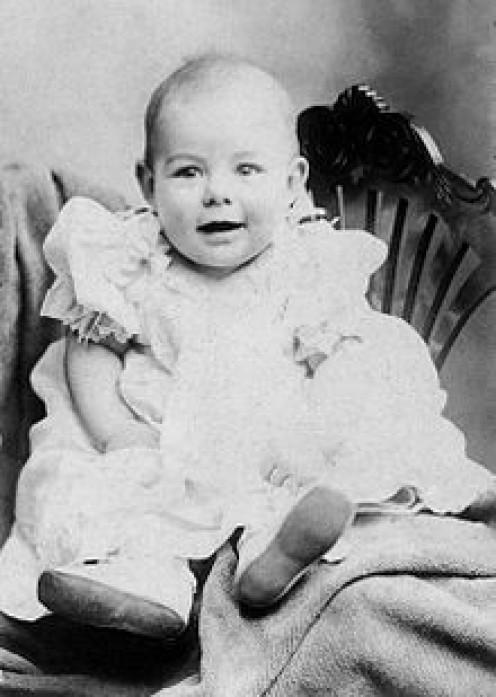 Pretty little baby Ernest