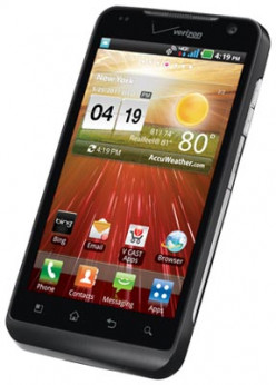 The LG Revolution runs on the Android 2.2 Froyo operating system.