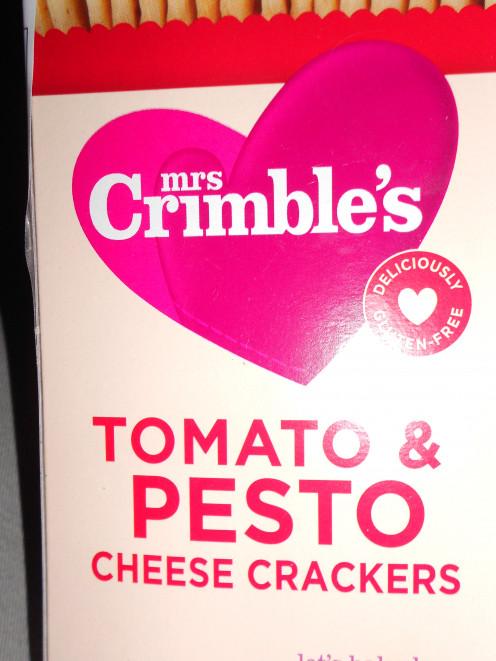 Tomato and Pesto Cheese Crackers