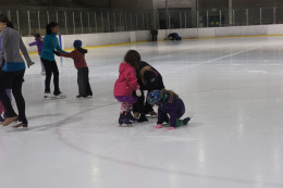 ice skating lessons at our local rink