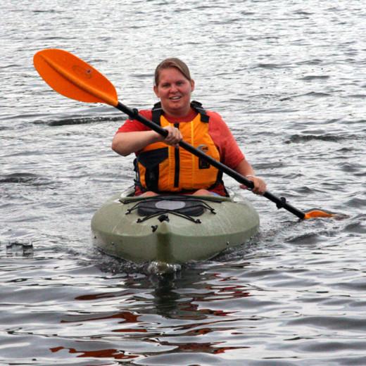 First time kayaking!