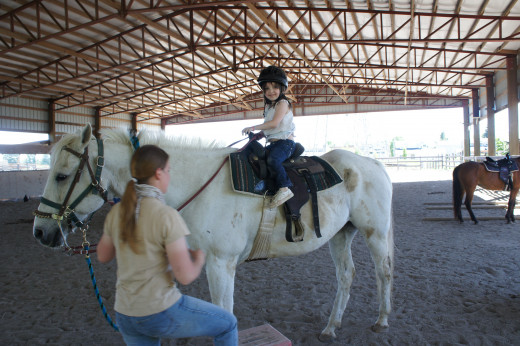 horseback riding lessons