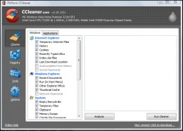 Computer Cleaner on CCleaner