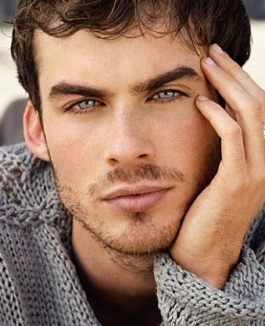 Ian Somerhalder (oh those eyes)