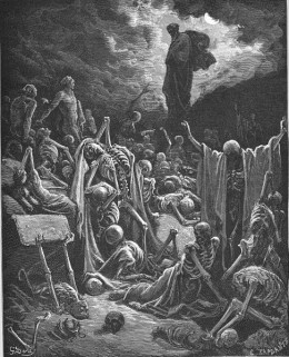 'Ezekiel's Vision of the Valley of Dry Bones,' Gustave Dore (1866)