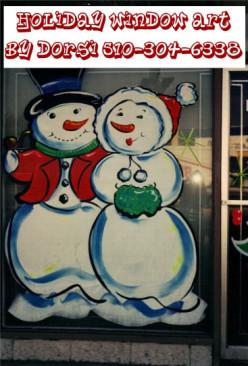 How to Make a Christmas Window Display