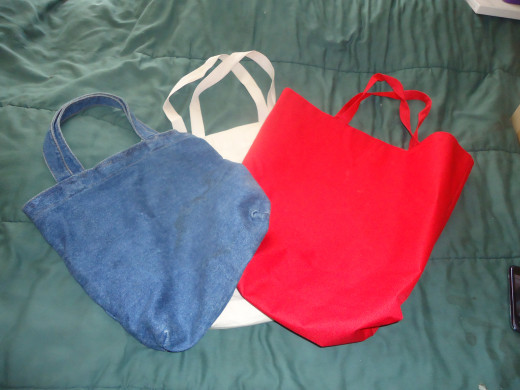 plain tote bags