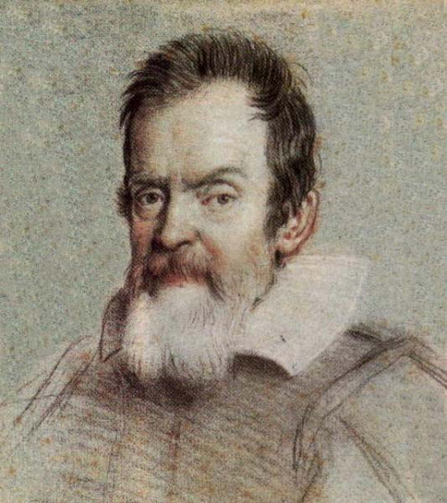Galileo Galilei. Portrait by Ottavio Leoni.