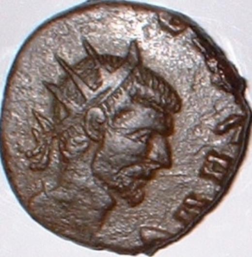 Emperor Claudius II Gothicus (268 - 270 AD) Roman Empire