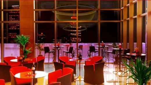 Luna Bar located in the deck of the Ramada Hotel.