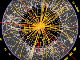 Perhaps you might be able to determine just what track is that of the elusive Higgs boson that was recently found. You would have to know the signatures of all the other sub-atomic particles to find the one you don't know.