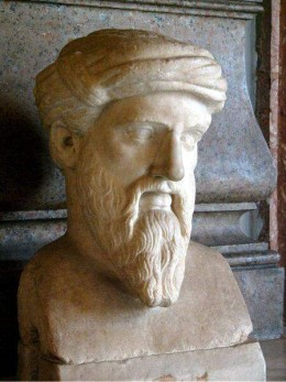 Pythagoras : b. about 570 – d. about 495 BC