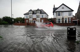 Just as in Duluth, Minnesota the UK has had its share of flooding.