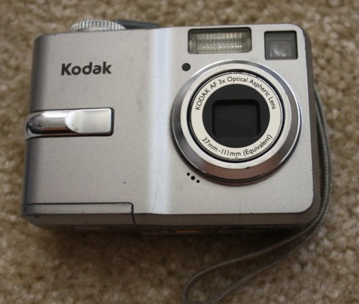 Kodak EasyShare C743 camera with 3x optical zoom and a durable body (it has been dropped multiple times).