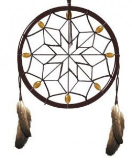 "The Native American ""dreamcatcher"" is said to filter good dreams from bad. Tupak's original homepage pictured a dreamcatcher; his new page tones down the Indian angle."