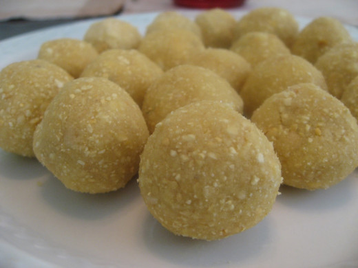 Ladoo made from Gram Dal