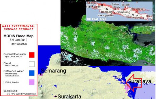 Surakarta and Western java.