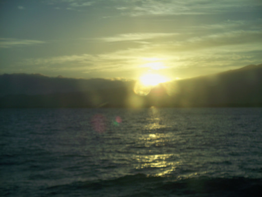 A Maui Sunset from our Hawaii vacation Dec, 2011