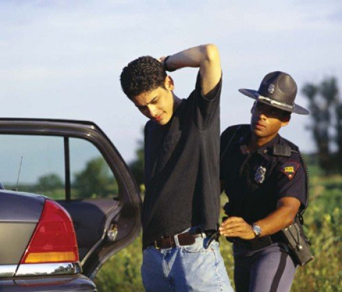 Resisting arrest will not help you in any way.  You could receive additional charges and/or get seriously injured.