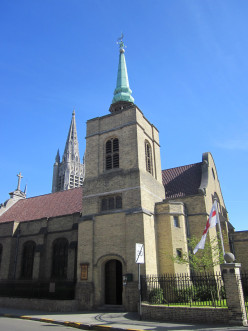 Anglican church, Ypres