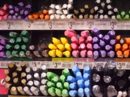 So many marker colors!
