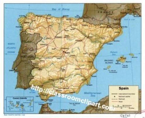 The Iberian Peninsula - Portugal and Spain