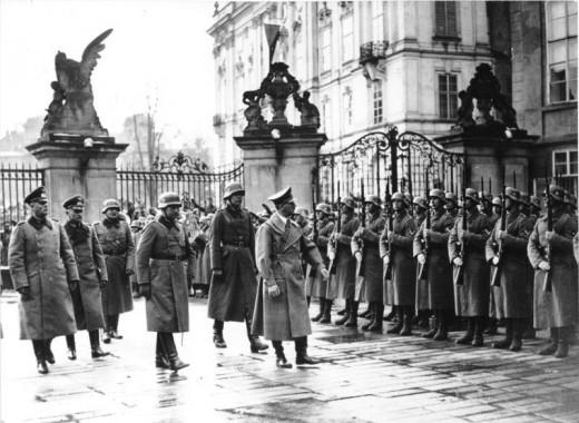 Adolf Hitler in Prague, March 15,1939