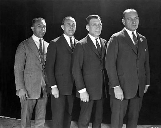 Harry, Al, Sam and Jack Warner