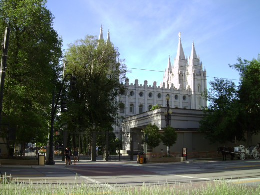 Mormon Temple--Salt Lake City