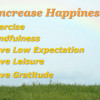 Five Ways to Increases Happiness