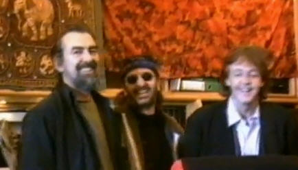 George, Ringo and Paul-one last time-1994