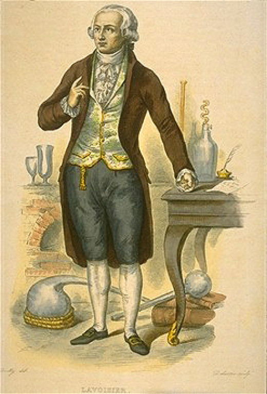 Antoine Lavoisier : 26 August 1743 – 8 May 1794